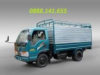 Hải Phòng bán xe tải thùng 1,25 tấn thùng dài 3,7 mét giá 255 triệu 0888141655