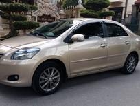 Cần bán gấp Toyota Vios E đời 2012, màu vàng, giá 339tr