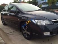 Cần bán Honda Civic sản xuất năm 2007, màu đen