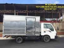 Bán xe tải Kia K190 thùng kín Inox màu trắng 1,9 tấn. Hỗ trợ trả góp 75%