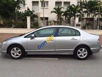 Bán xe cũ Honda Civic 1.8AT đời 2008, màu bạc, giá tốt