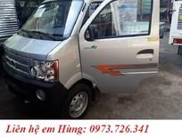 Xe tải Dongben thùng lửng 870kg xem xe trực tiếp tại công ty