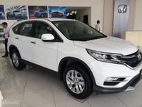Honda Ô Tô Quảng Bình bán xe Honda CR V 2.4L đời 2017, màu trắng, ưu đãi lên đến 100 triệu. LH 0911.37.2939