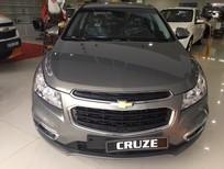 Cần bán xe Chevrolet Cruze 2017, màu nâu giá cạnh tranh, trả góp 100%, giao xe ngay, LH 09.386.33.586