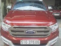 Ford Everest Titanium 2016, màu đỏ, nhập khẩu chính hãng, 1 tỷ 265 tr- 0938 055 993