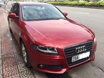 Cần bán lại xe Audi A4 1.8 đời 2009, màu đỏ, nhập khẩu nguyên chiếc, giá tốt