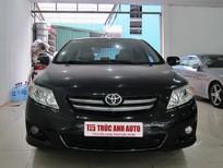 Cần bán lại xe Toyota Corolla altis G 2010, màu đen