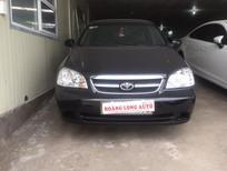 HOANGLONGAUTO Cần bán xe Daewoo Lacetti EX đời 2011, màu đen, 475tr