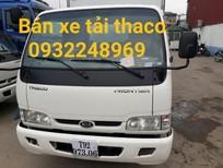 Bán xe tải 2.4 tấn Thaco K165 giá rẻ và hỗ trợ trả góp giá ưu đãi tại Hải Phòng