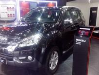 Cần bán xe Isuzu MU 2.5L 4x2 MT 2017, màu đen, nhập khẩu chính hãng giá cạnh tranh