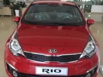 Bán xe Kia Rio 1.4 AT 2017, màu đỏ, nhập khẩu chính hãng