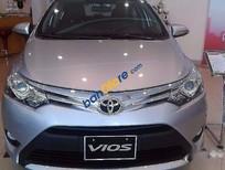 Bán Toyota Vios G 1.5AT đời 2017, màu bạc, giá 590tr