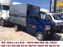 Cần bán Dongben 810kg thùng kín  xe tải Dongben 810kg trả góp