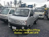 Bán xe tải Dongben chở hàng nhẹ - xe tải nhỏ Dongben 870 kg, 810 kg, 770kg
