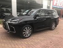 Bán Lexus LX570 màu đen nội thất nâu xe sản xuất 2016 đăng ký 2016