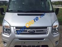 Bán xe Ford Transit Medium 2017, màu bạc