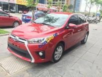 Cần bán xe Toyota Yaris 1.3G sản xuất 2016, màu đỏ giá cạnh tranh