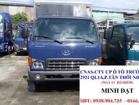Cần bán Hyundai HD65 5 tấn 2017, màu xanh lam, xe nhập, giá tốt