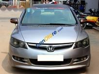 Bán Honda Civic 1.8AT sản xuất 2007, màu xám, lắp ráp trong nước, đăng ký tên tư nhân lần đầu 05/2007, số tự động