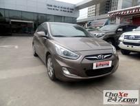 Cần bán gấp Hyundai Accent 1.4 đời 2014, màu nâu, 470tr