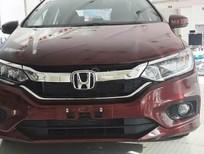Cần bán xe Honda City 1.5 CVT 2018, màu đỏ