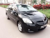 Cần bán Toyota Vios E sản xuất 2009, màu đen, 288tr