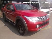 Cần bán xe Mitsubishi Triton mới 2017, màu đỏ, xe nhập, xe siêu lợi nhiên liệu
