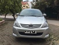 Bán Toyota Innova 2.0 G 2011, màu bạc chính chủ