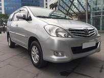 Cần bán gấp Toyota Innova 2.0 G 2011, màu bạc đăng ký chính chủ