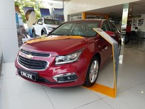 Bán Chevrolet Cruze LTZ 1.8 trả trước chỉ 115 tr có xe ngay 2017, màu đỏ