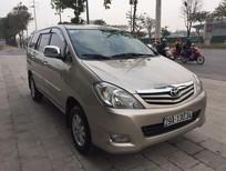 Cần bán gấp Toyota Innova 2.0 G 2011, màu vàng đăng ký chính chủ