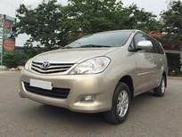 Cần bán lại xe Toyota Innova 2.0 G 2011, màu vàng đăng ký chính chủ