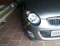 Bán xe cũ Kia Morning SX đời 2012, màu xám, giá 254tr