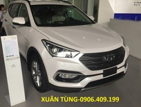 Giá xe Santa Fe 2017 Đà Nẵng, LH: Xuân Tùng -0906.409.199, ưu đãi tốt nhất hỗ trợ tận tình cho KH mua xe