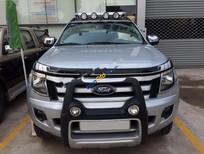 Bán xe Ford Ranger XLS AT đời 2014, màu bạc