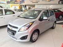 Chỉ cần trả trước 45 triệu (đủ điều kiện) sở hữu ngay xe Chevrolet Spark LS 1.2L màu bạc - LH: 0945.307.489
