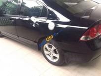 Bán xe Honda Civic 1.8MT đời 2008, màu đen