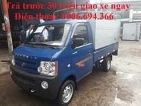 Bán xe tải Dongben 800kg máy xăng hỗ trợ vay trả góp uy tín tại sài gòn