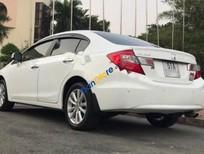 Cần bán lại xe Honda Civic 2.0AT năm sản xuất 2012, màu trắng số tự động