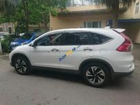 Bán Honda CR V 2.4AT sản xuất 2015, màu trắng xe gia đình