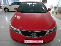 Cần bán Kia Cerato đời 2011, màu đỏ, nhập khẩu chính hãng