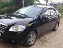 Bán Daewoo Gentra SX sản xuất 2009, màu đen, 210 triệu