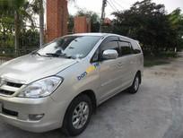 Gia đình tôi cần bán xe Toyota Innova J, sản xuất năm 2006, đăng kí lần đầu năm tháng 2 năm 2007