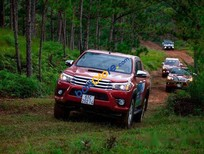 Bán xe cũ Toyota Hilux 4x4. 3.0 sản xuất 2016, màu đỏ