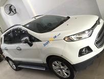Bán lại xe Ford EcoSport sản xuất năm 2014, màu trắng số tự động