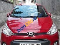 Bán xe Hyundai i10 1.0MT đời 2015, màu mận chín, giá 365tr