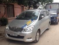 Cần bán lại xe Toyota Innova 2.0V đời 2008, màu bạc, giá chỉ 500 triệu