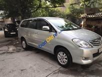 Cần bán lại xe Toyota Innova G đời 2011, màu bạc số sàn