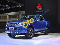 Cần bán Mitsubishi Triton GLS đời 2017, màu xanh lam, nhập khẩu