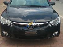 Cần bán xe Honda Civic 1.8MT đời 2008, màu đen